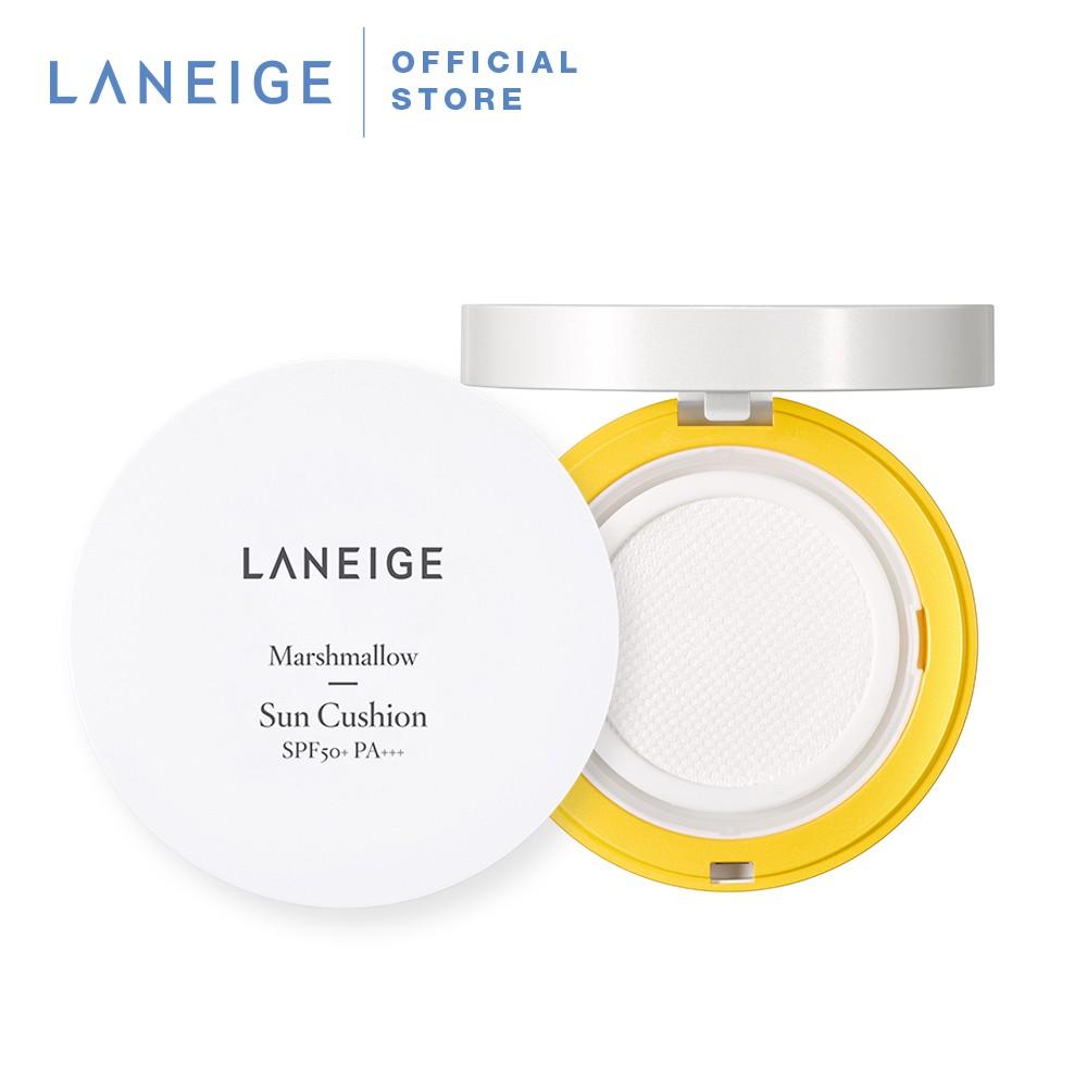 Laneige Marshmallow Sun Cushion SPF50+ PA+++ (11g)