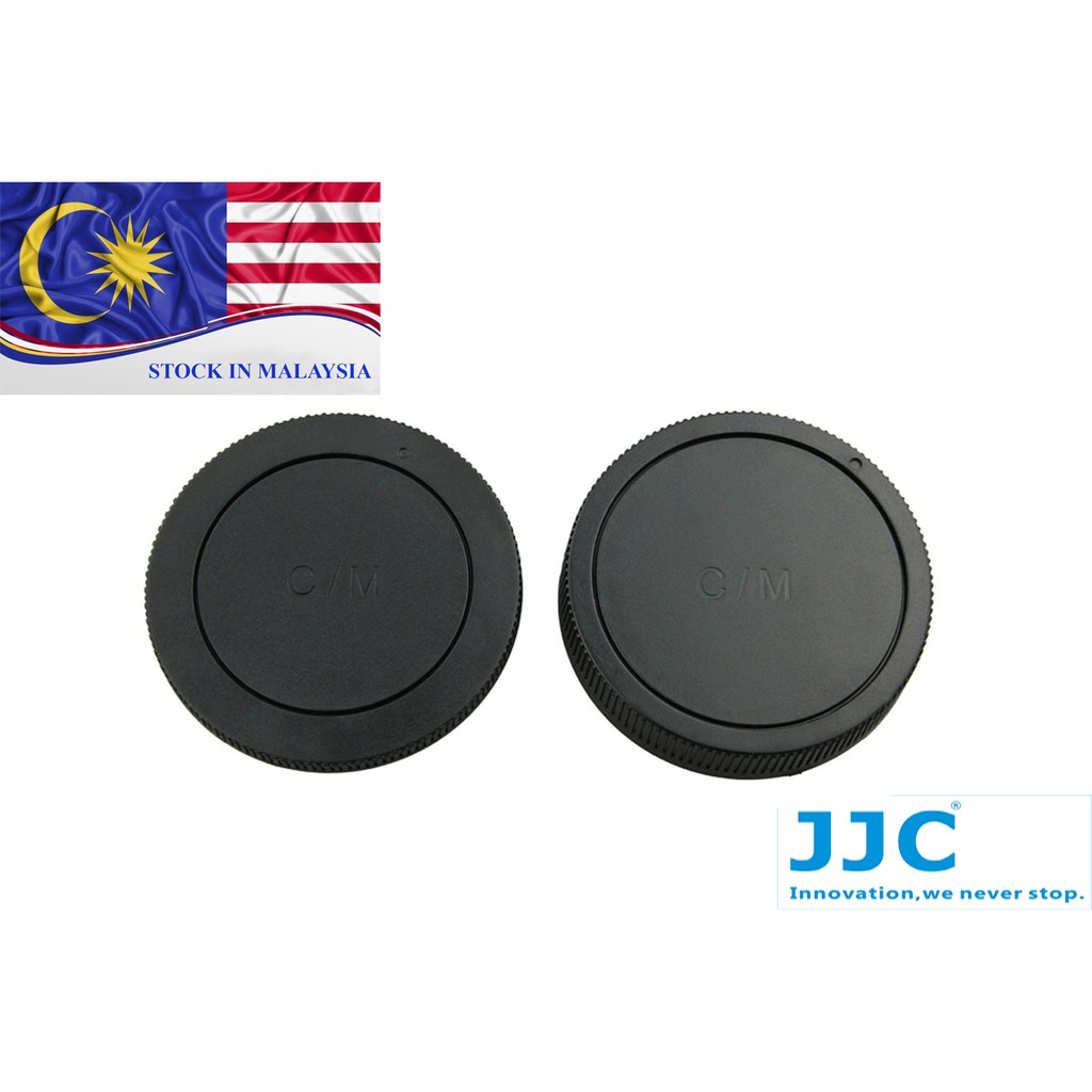 JJC L-R15 Rear Lens Cap and Body Cap for CANON EOS-M mount (Ready Stock In Malaysia)