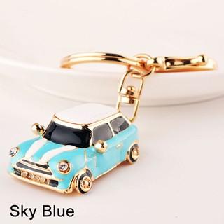 bc6bc1c959 High Quality Car Alloy Keychain Keyring Pendant Car Model Key For Mini  Cooper