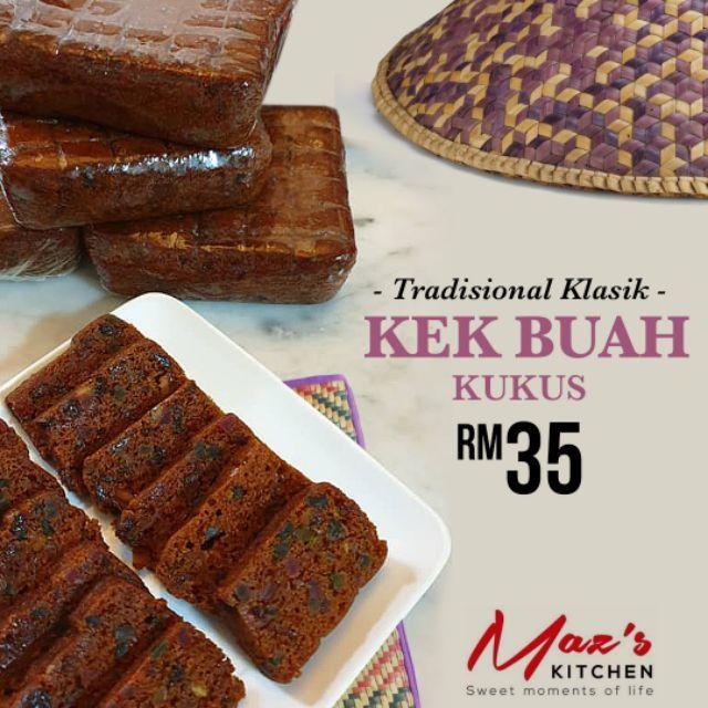 Kek Buah Kukus Moist Shopee Malaysia