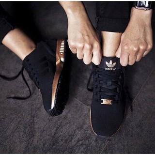 Adidas Zx Flujo Negro Y Oro Malasia FP5WgM
