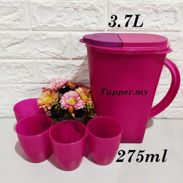 *1pc/2pcs/4pcs*Tupperware Camellia Collection Serveware Set / Dining Pitcher Jug 3.7L / Tumblers Mug Cup 275ml