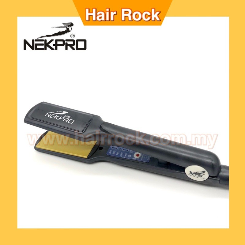 NEKPro 910C Professional Ceramic Hair Straightener Professional Salon Quality