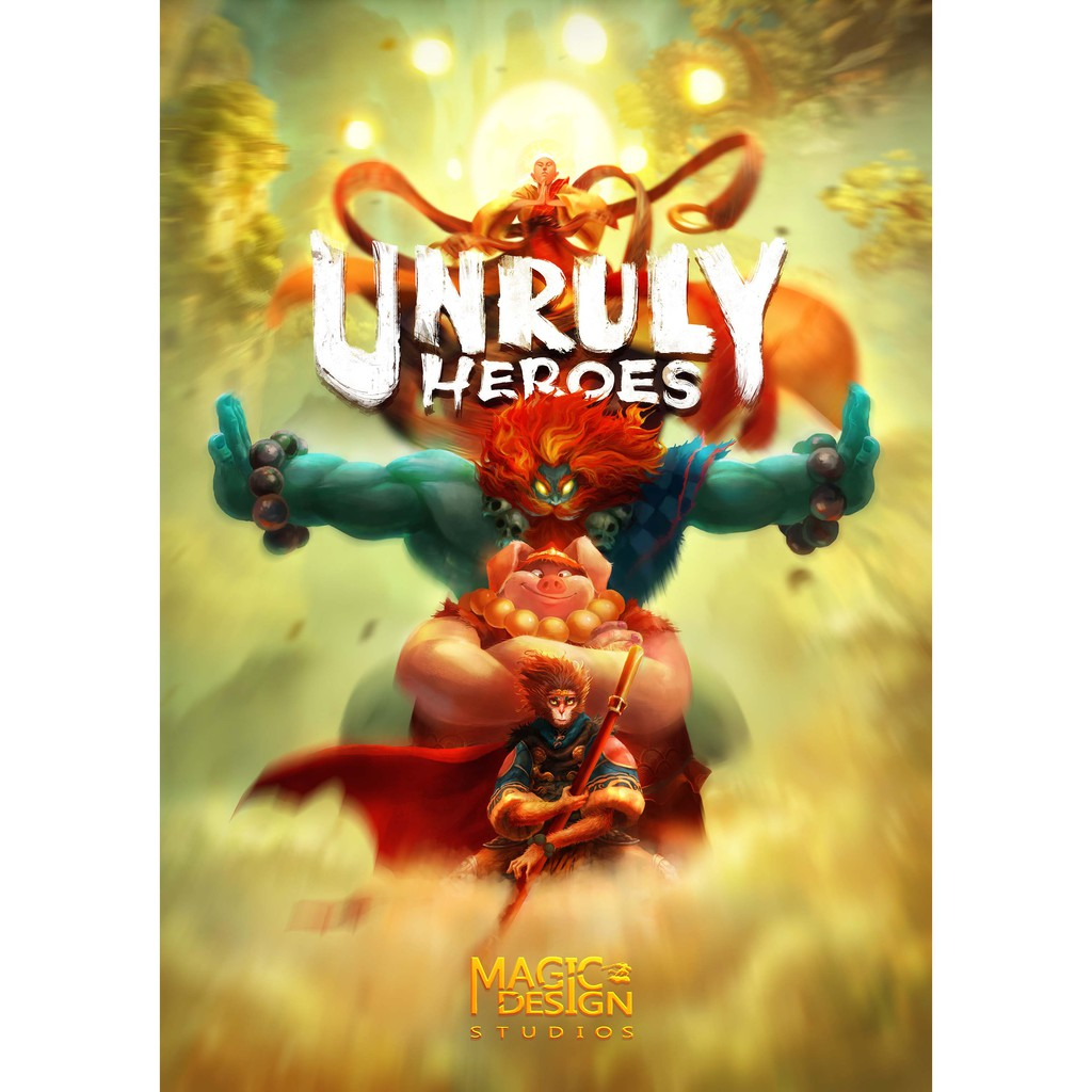 Unruly Heroes Offline PC Games with CD/DVD