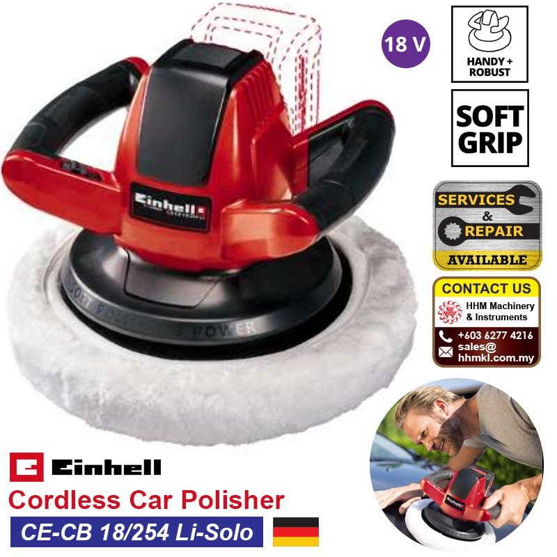 Einhell Power X-Change CE-CB 18//254 Li Solo Cordless Car Buffer//Polisher 18 V,