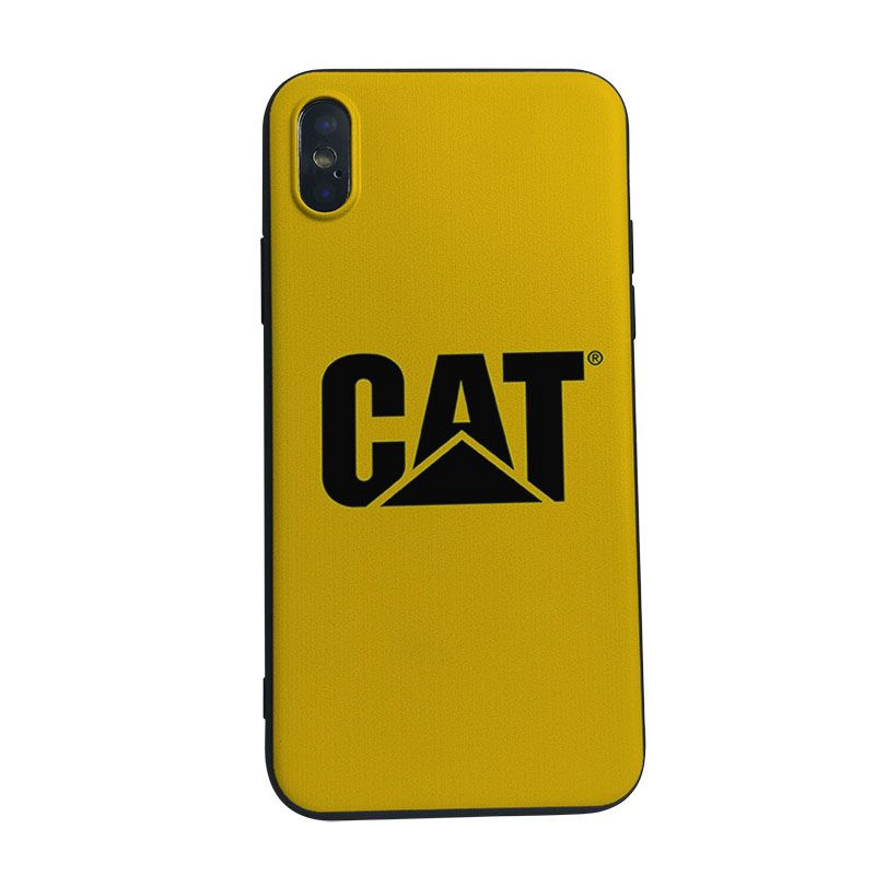 release date: 6532d 2e8b5 Caterpillar logo case for Iphone Huawei Oppo Soft Phone Case