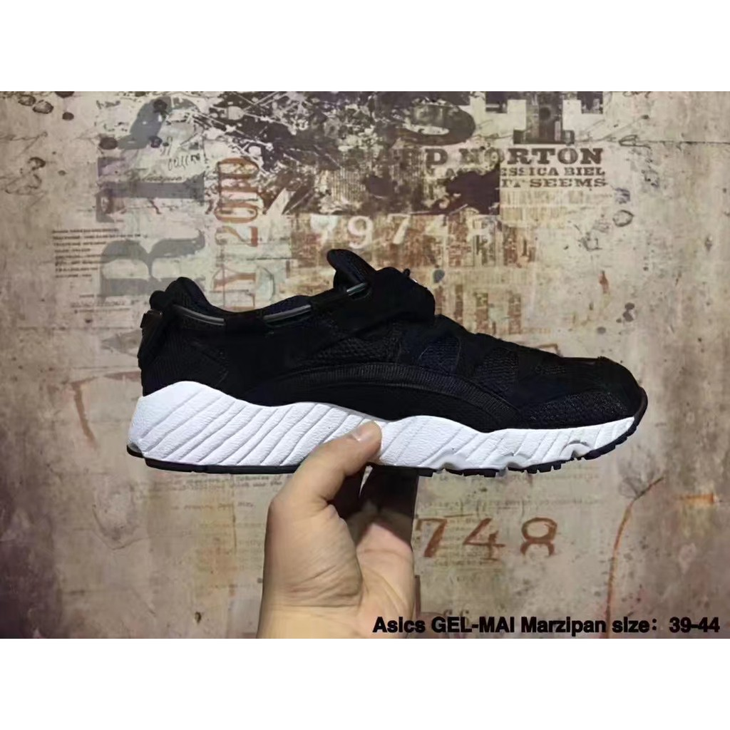 e72b5320ab Ready stock low X ASICS GEL MAI all white Submariner suede for men size39-44