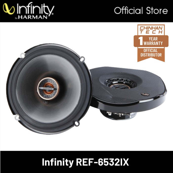 """Infinity Reference REF-6532IX 6-1/2"""" 2-way car speakers"""