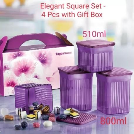 Tupperware Elegant Square Set ~ Full Set OR Loose
