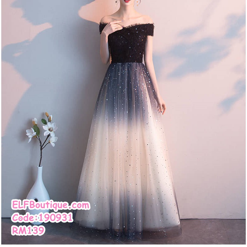 Ready Stock Elegent Black Sequin Dinner Dress Wedding Party Annual Dinner Maxi Dress Plus Size S 3xl Shopee Malaysia,How To Dress For A Wedding Guest