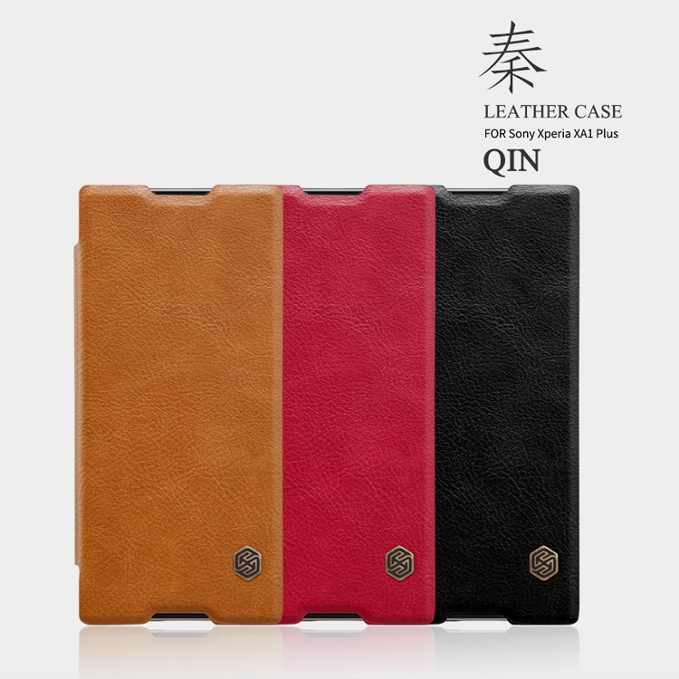 4855229dd0 Nillkin thin Leather flip cover case for Sony Xperia XA1 Plus phone cases |  Shopee Malaysia