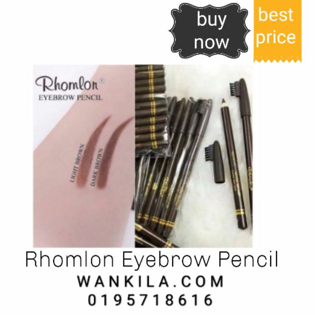 Rhomlon Eyebrow Pencil Made In Japan