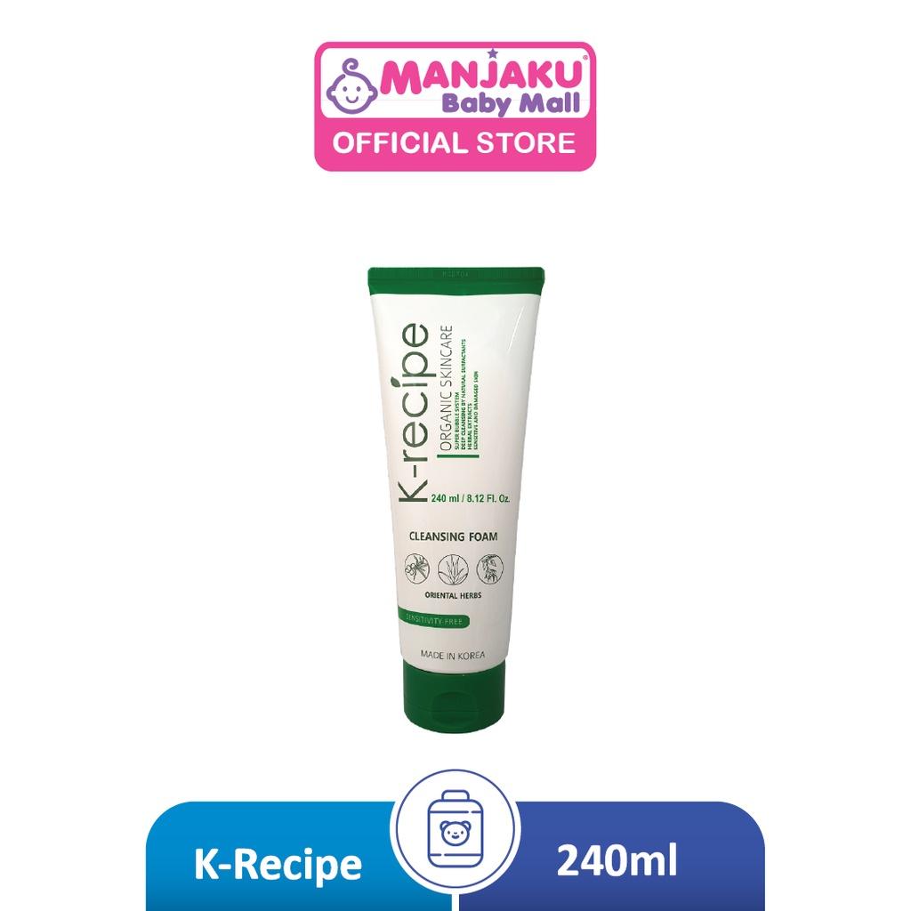 K-Recipe Oriental Herbs Cleansing Foam (240ml)