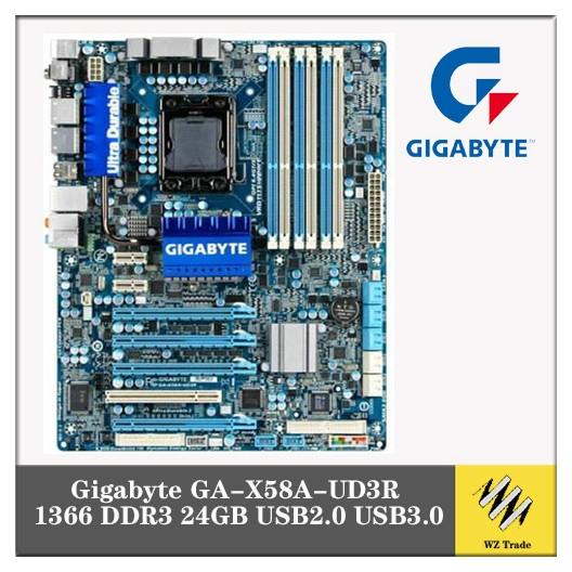 ASUS P6T Deluxe X58 Desktop motherboard DDR3 LGA 1366 24GB USB2.0 X58 ATX