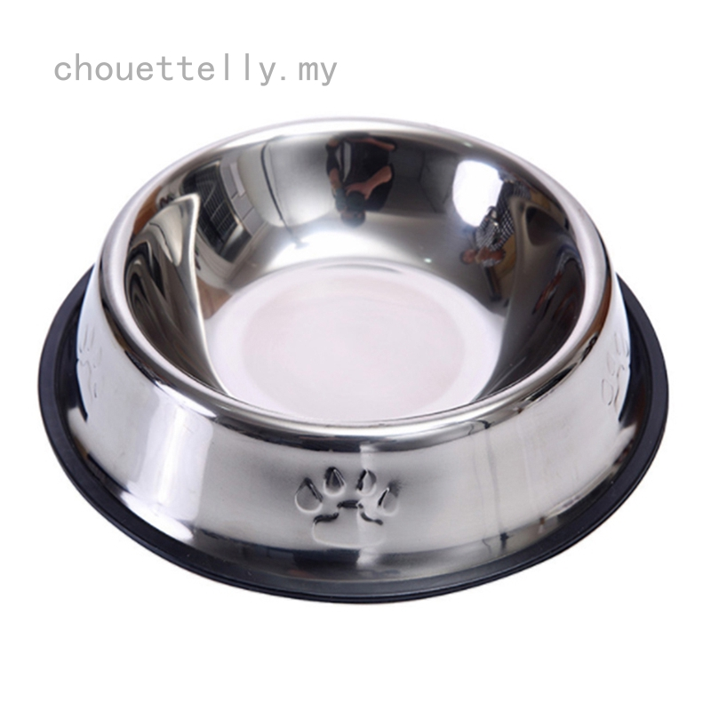 Dog Cat Bowls Stainless Steel Travel