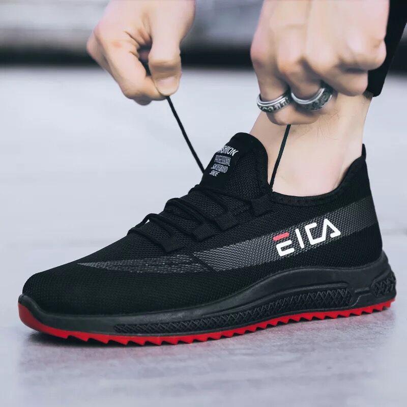 Sale‼️ 🔥New Fshion ใหม่รองเท้ากีฬาผู้ชายรองเท้าวิ่งระบายอากาศรองเท้ากีฬาลำลองรองเท้ากีฬา