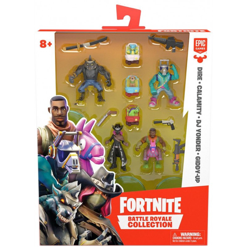 Fortnite Battle Royale Collection Squad Pack Shopee Malaysia