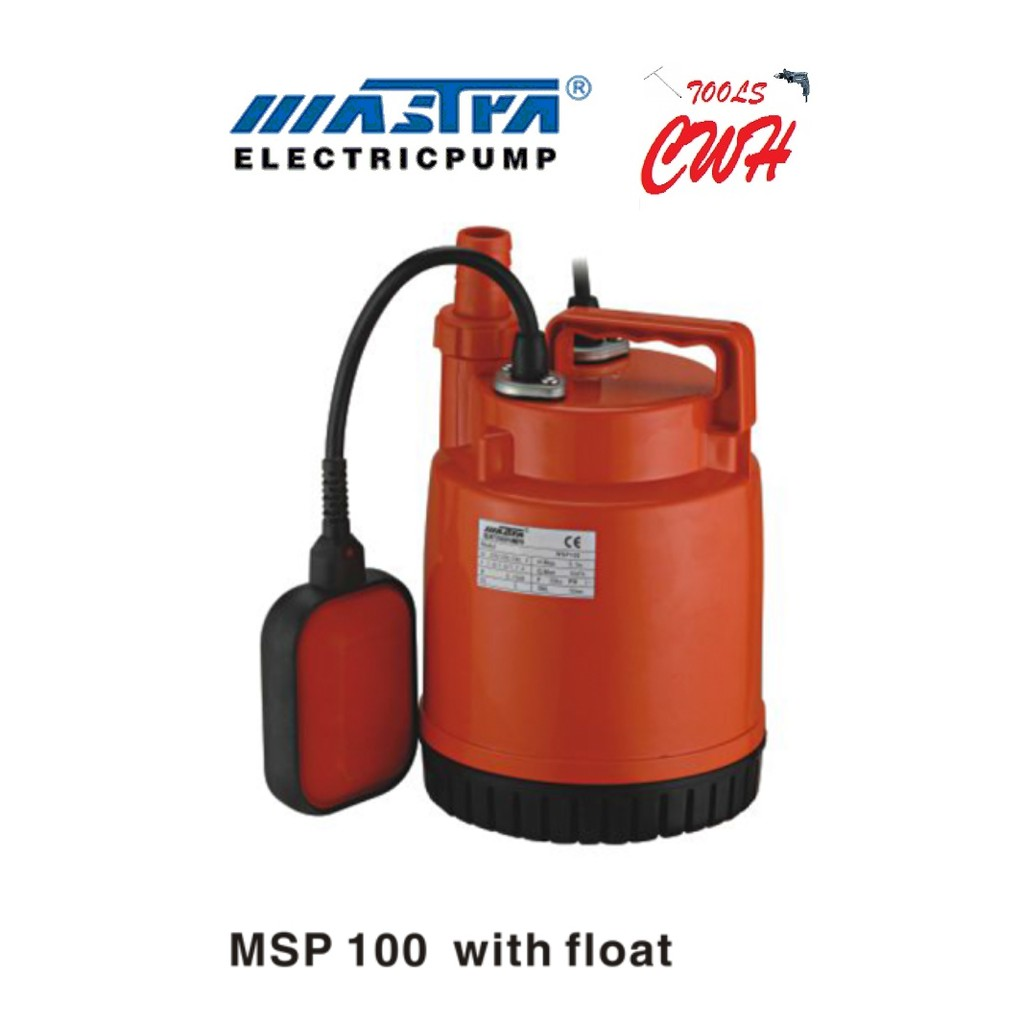 MASTRA MSP-100A SMSP-100A SEWAGE SUBMERSIBLE PUMP WATER PUMP SEWAGE PUMP OUTDOOR PUMP GARDEN PUMP