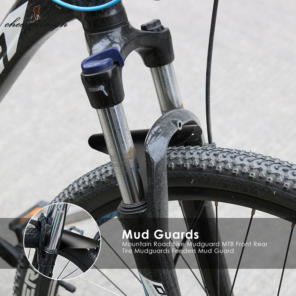 1PC MTB Mountain Bike Front Bicycle Fender Lightweight Mudguard Mud Guard Tire