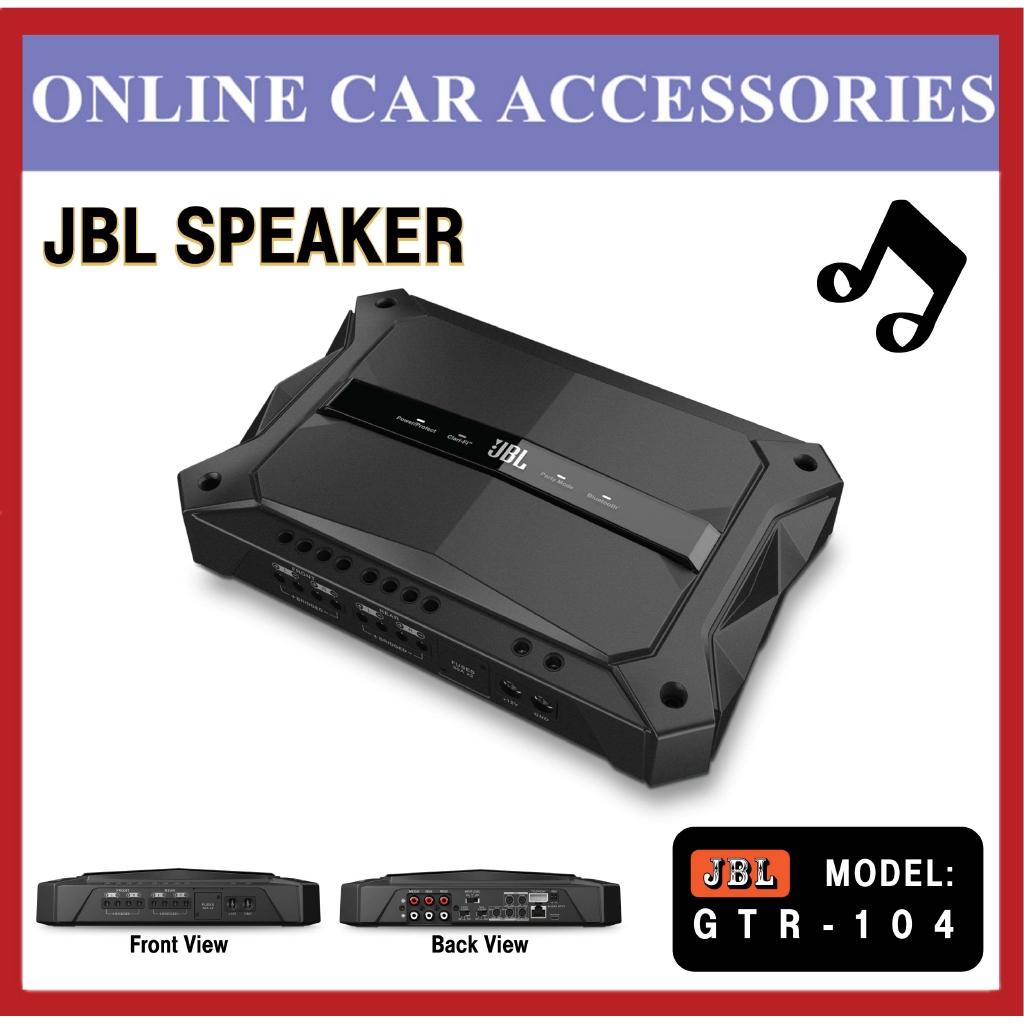 GTR-104 4 Channel - 1500W High Performance Car Amplifier