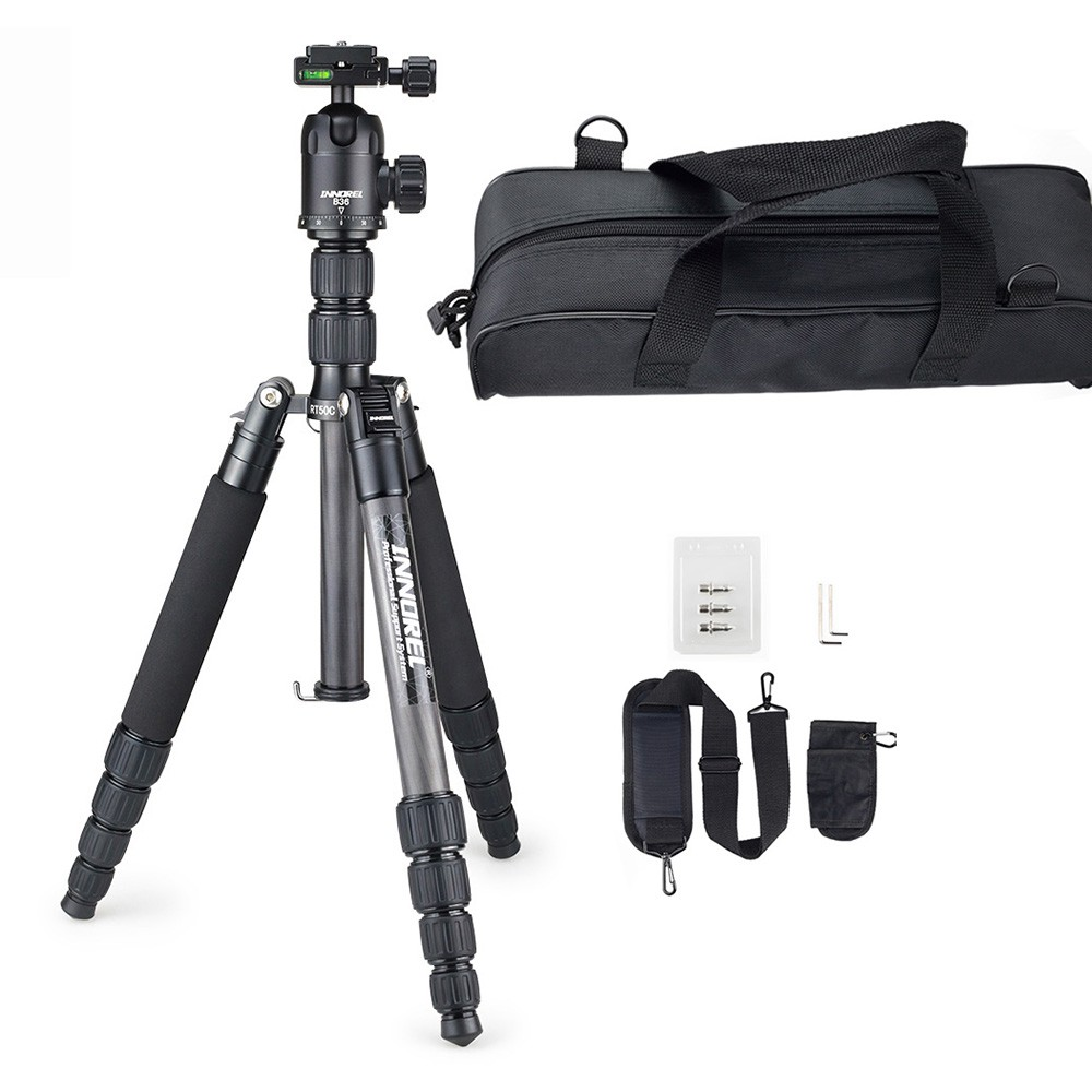 Rt40 Professional Camera Travel Tripod Monopod Compact Aluminum Universal 2 In 1 Portable Mini Folding For Dslr Hitam Stand Ball Head Shopee Malaysia