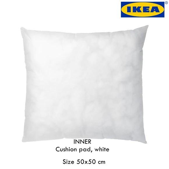 Ikea Inner Cushion Pad White 50x50 Cm