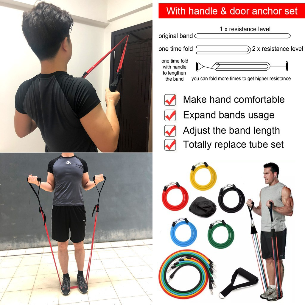 b88ae13ac94e Pull Up,Fitness,Stretch,Yoga,Workout AdoreFit Resistance Exercise Loop Band  for