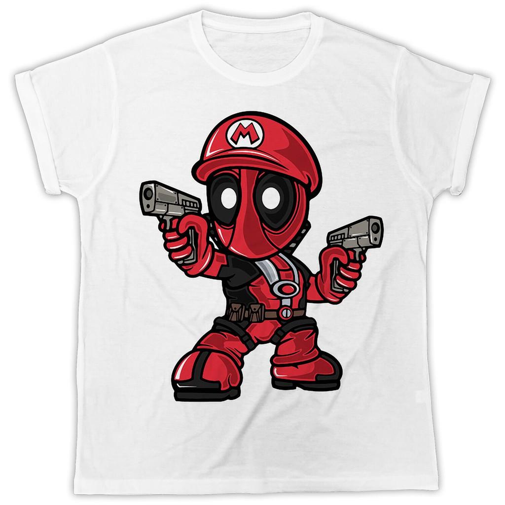 dfa7fea82 Funny Deadpool Kiss Comics Marvel Present Short Sleeve Mens T Shirt |  Shopee Malaysia