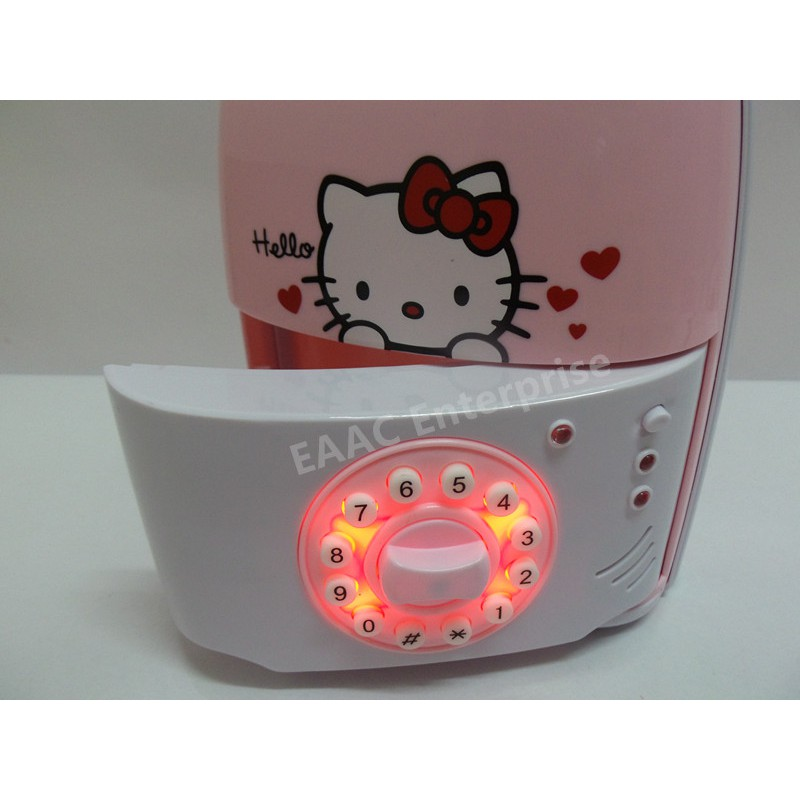 Hello Kitty Money Saving Coin Bank Safe Deposit Box Security Box Luggage Type
