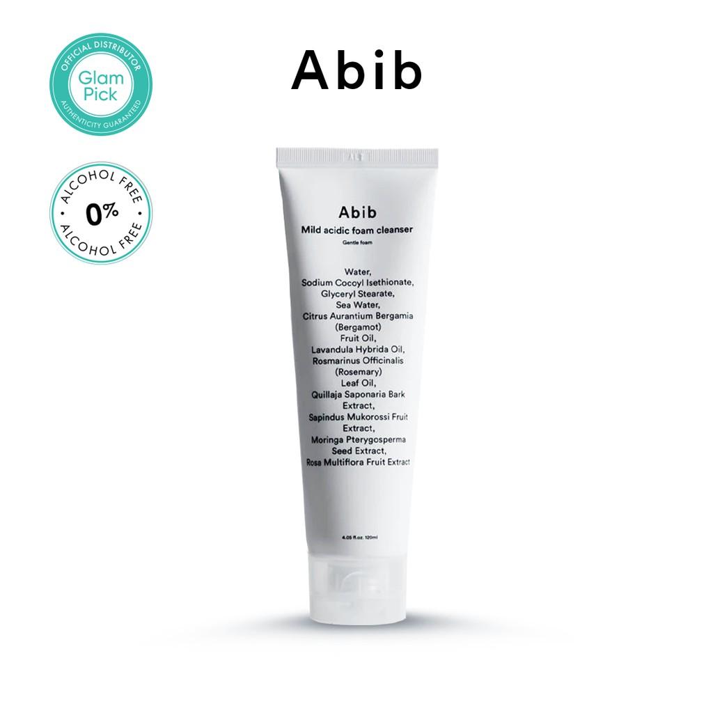 ABIB Mild Acidic Foam Cleanser Gentle Foam 120ml