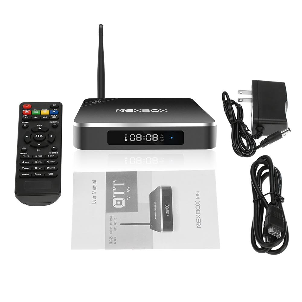 NEXBOX N86 Smart Android TV Box Android