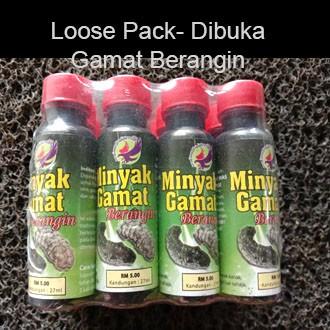 LANGKAWI Minyak Gamat BERANGIN 27ml-Loose Pack Dibuka