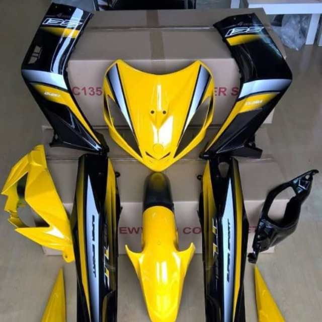 [Kuning Diraja]Body Cover Set OEM For Yamaha LC135 V1