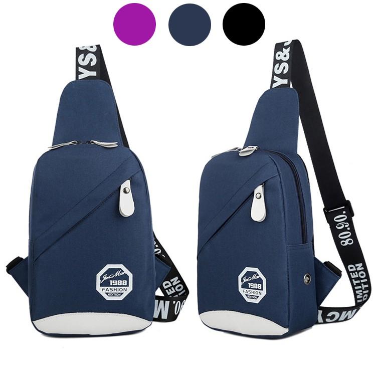 a00b39bb7451 GS 10 Korean Fashion Premium Canvas Casual Men Cross Body Shoulder Bag