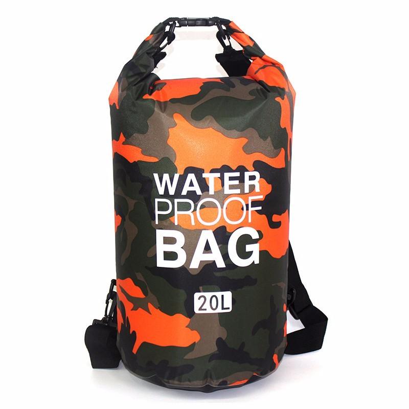 TOMSHOO 10L   20L Outdoor Water-Resistant Dry Bag waterproof bag ... 19cc05fff8418