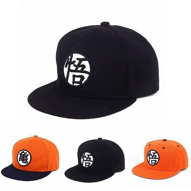 b0206ed69 Dragon Ball Z Goku Hat Snapback Flat Hip Hop caps Casual Baseball Cap