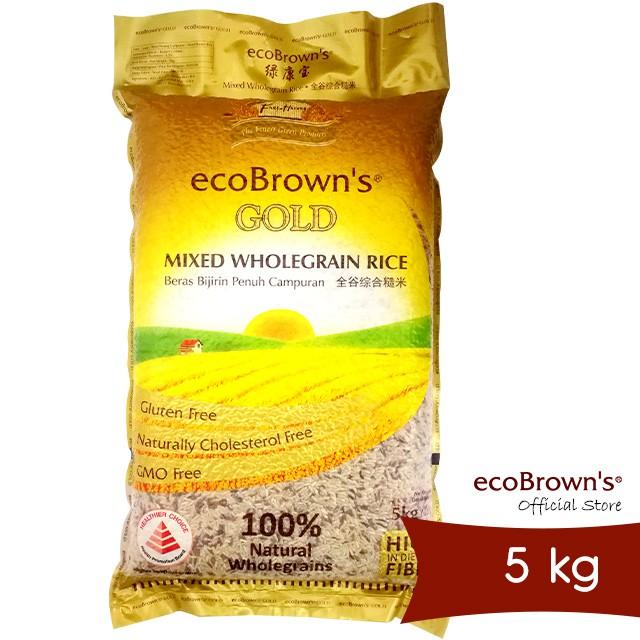 ecoBrown's Gold Wholegrain Rice 5kg