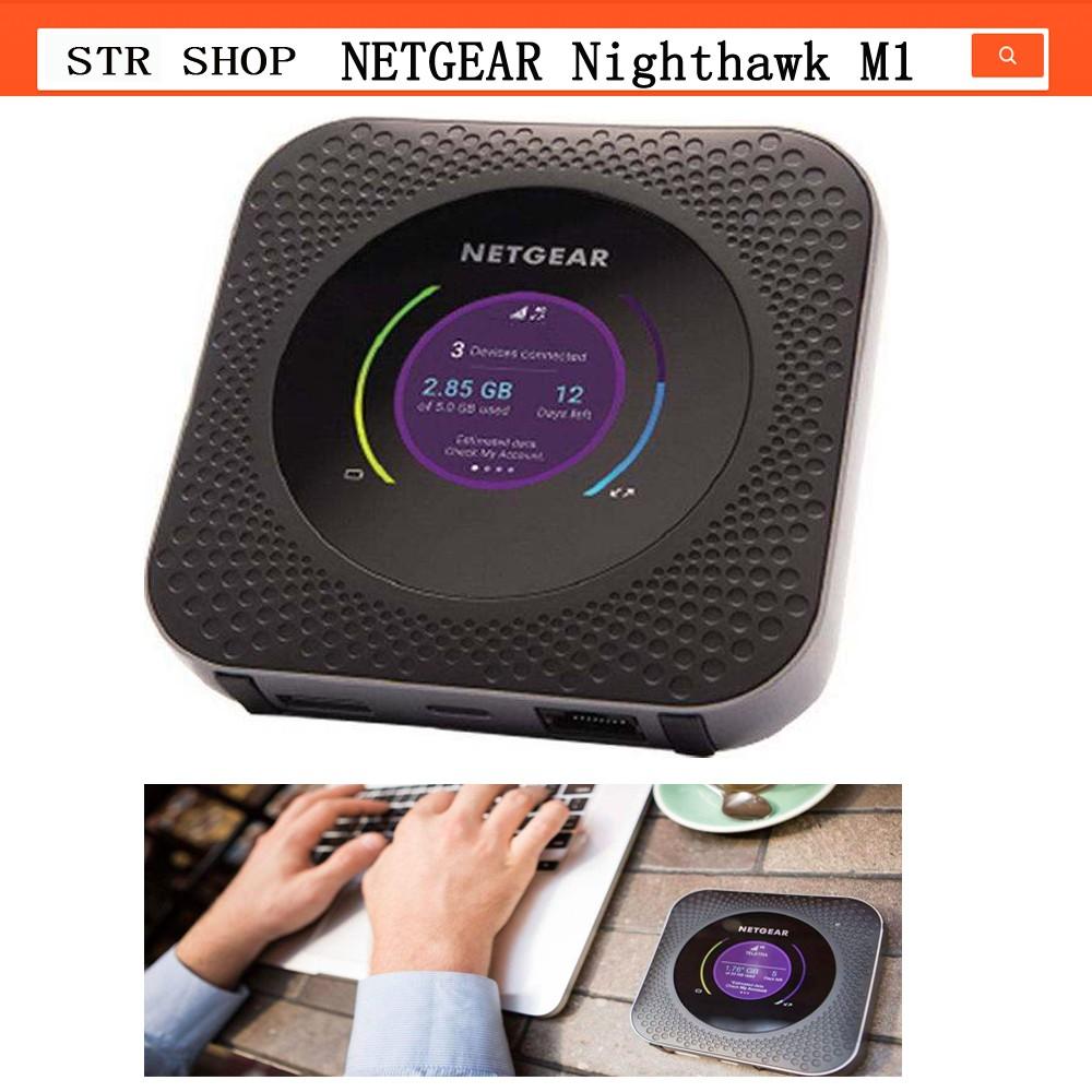 enabled netgear gigabit Nighthawk m1 4GX lte mobile router PK Y800 B315 B310