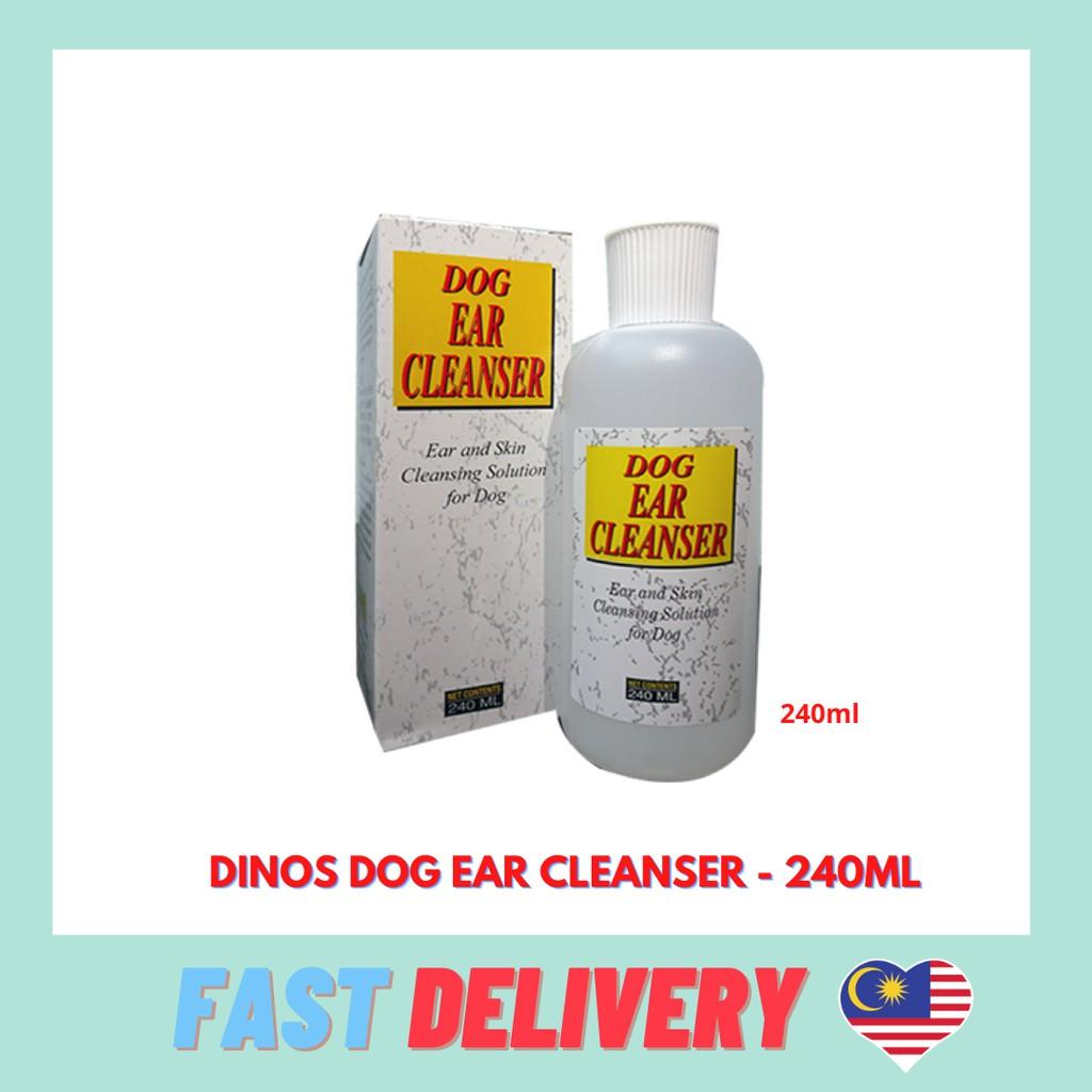 Dinos Dog Ear Cleanser -240ml