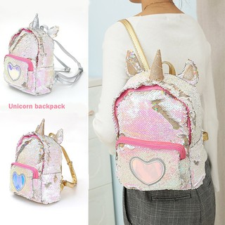 a19b87ccae39 Unicorn backpack Reversible Sequins School Backpack for Girl Travel ...
