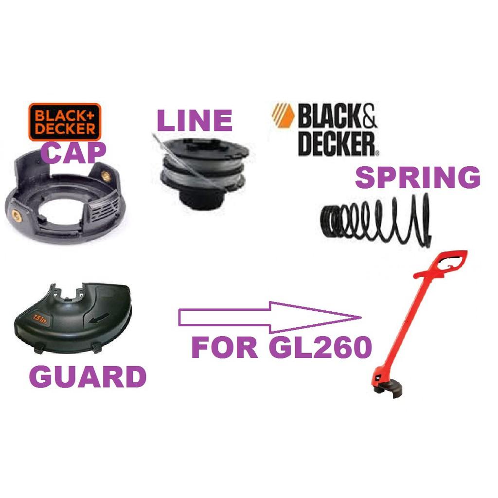 SPARE PART ACCESSORY FOR BLACK DECKER GL260 GRASS TRIMMER STRING CUTTER