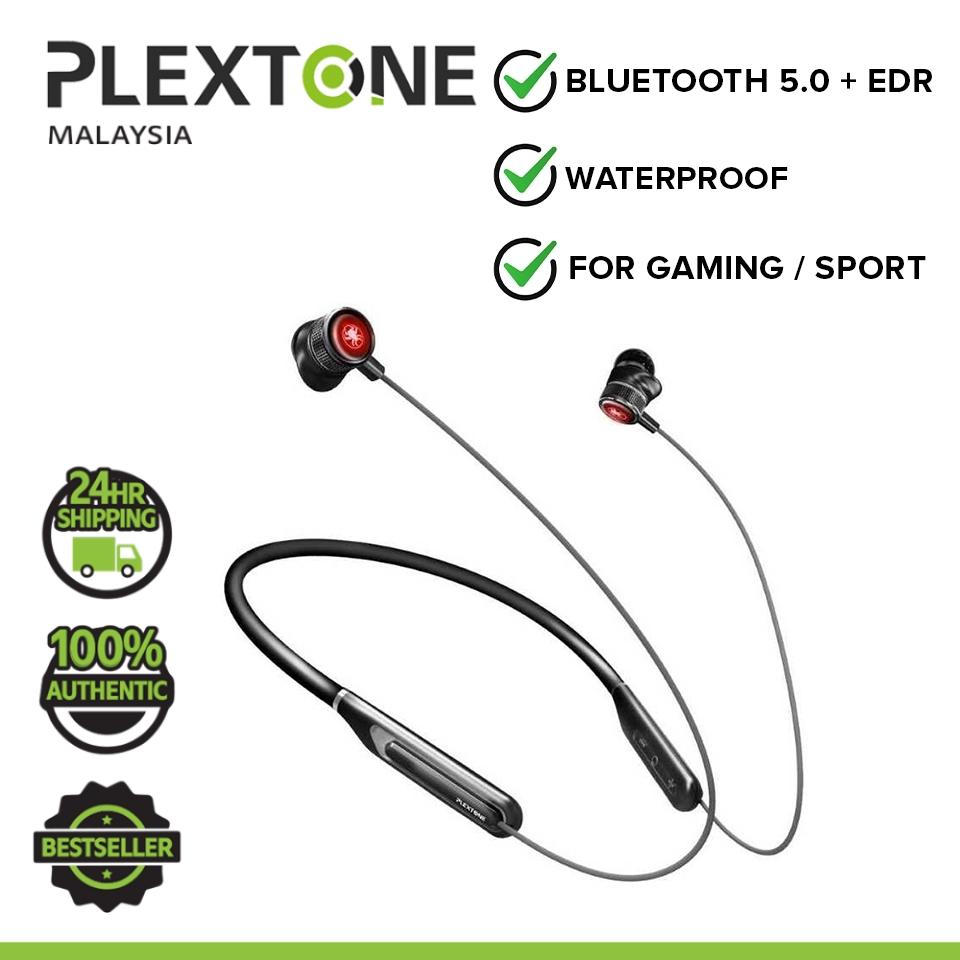 PLEXTONE G2 Gaming Wireless Neckband LED Bluetooth 5.0 Wireless Earbuds Headset Low Latency HD 7.1