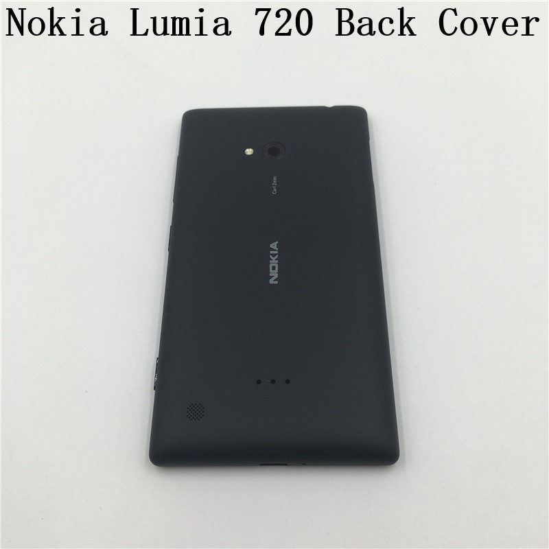 uk availability 67492 23fed Original New Housing Battery Back Cover Door Replacement For Nokia Lumia 720