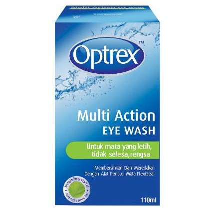 OPTREX Multi Action Eye Wash 110mL / 300mL
