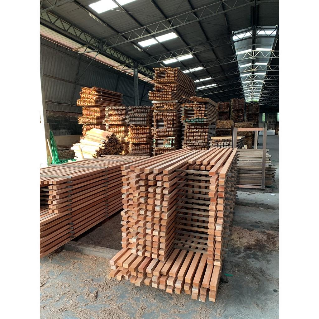 (7 ft)1'' x 2'' Solid Kayu Meranti Wood Kayu Perabot -  Siap Ketam