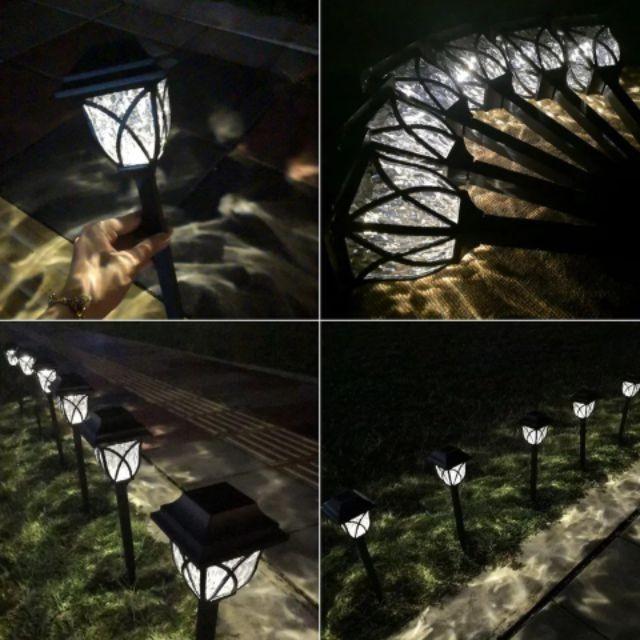 [ READY STOCK ]  Solar Powered Garden Lawn Durable Yard Decoration Waterproof Landscape Light Outdoor Lampu Pelita