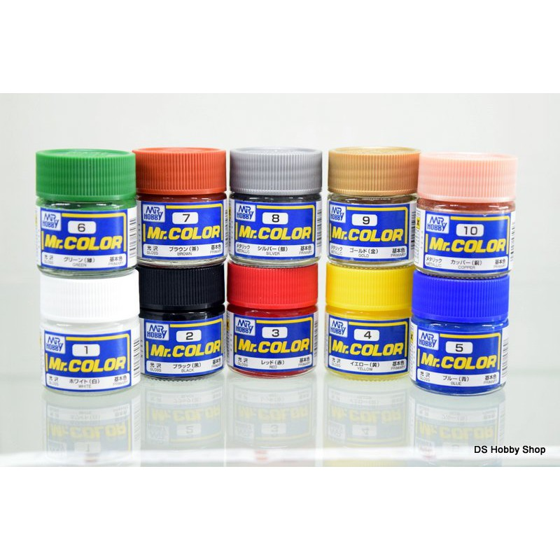 Hobby Mr Color Solvent Based Acrylic Model Paint Be Novel In Design Gsi Creos Mr