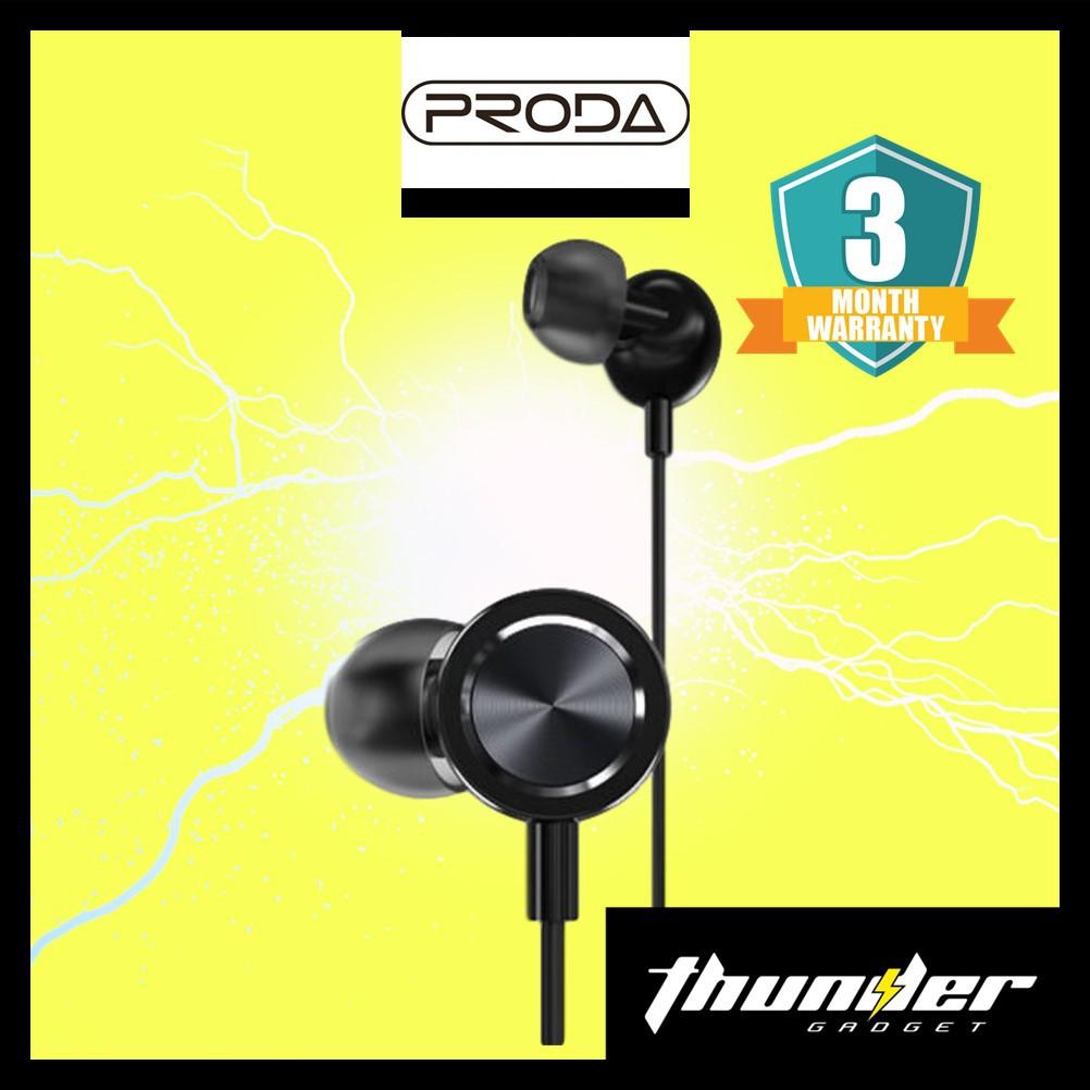 PRODA PD-E700 3.5MM Audio Jack Yage In-Ear Wired Earphone