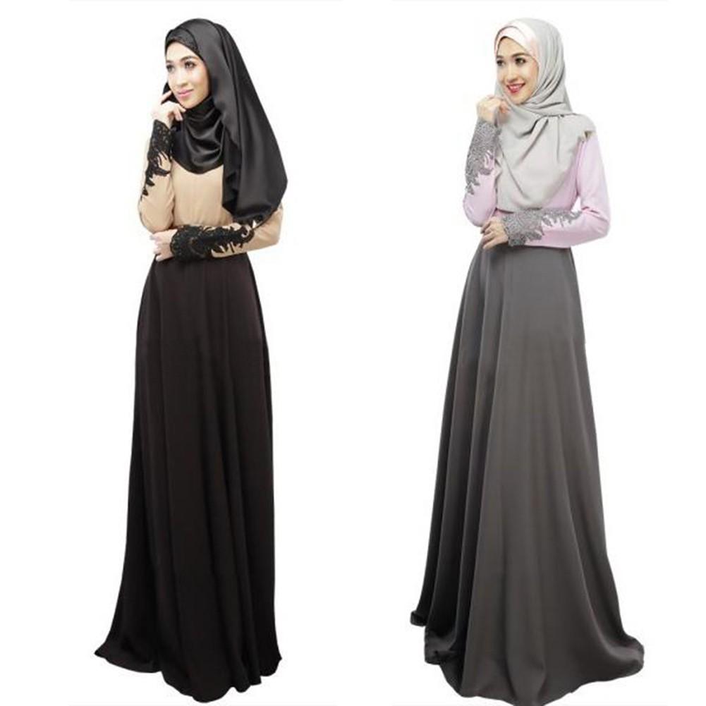 Buy Muslimah Jubah Online Muslim Fashion Shopee Malaysia Baju Wanita Dress Five  Grosir