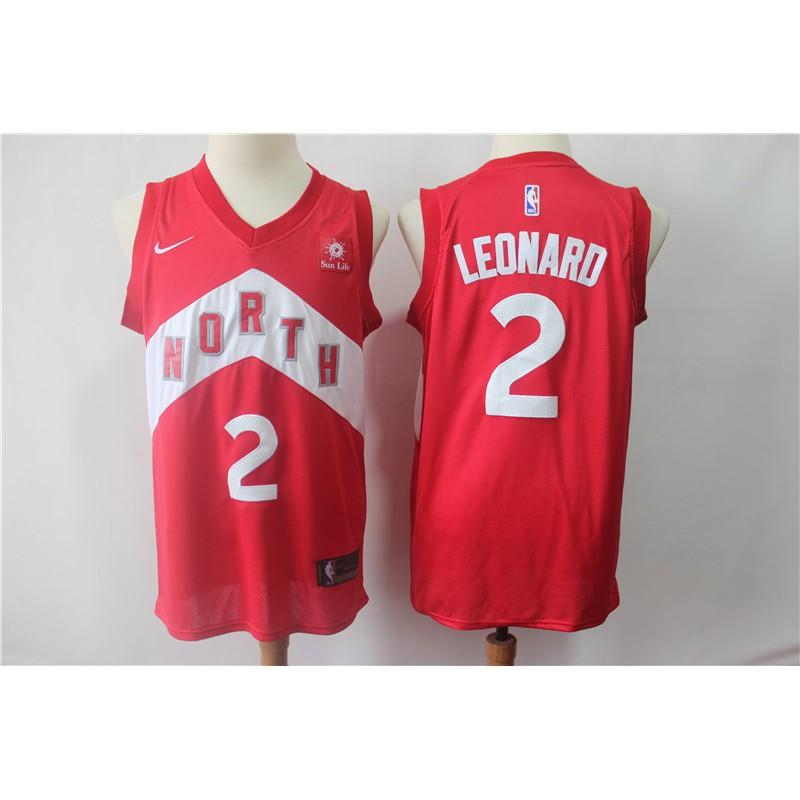 【VIP】2019 NBA Basketball Raptors (Reward Edition) No  2 Kawhi Leonard Red